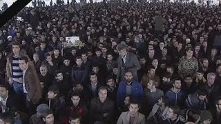 Thousands of mourners attend Rafsanjani