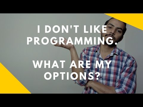 I don't like programming.  What are my options in IT Industry?
