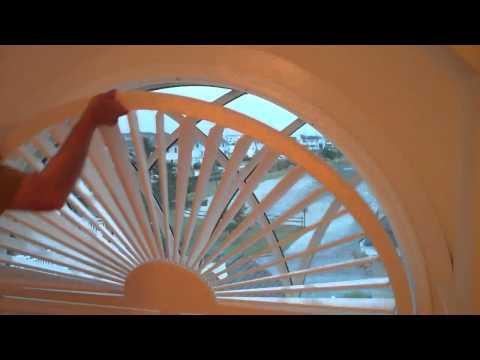 Arch Window Shutter
