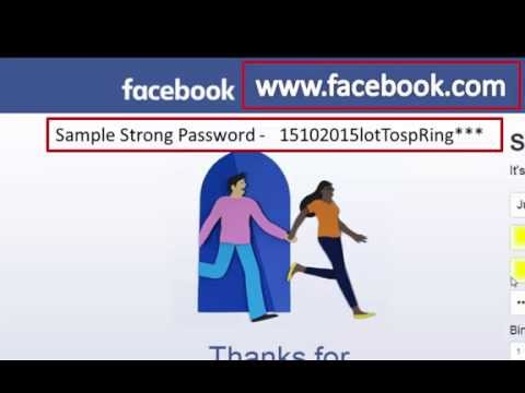 How to set up your first FaceBook Account