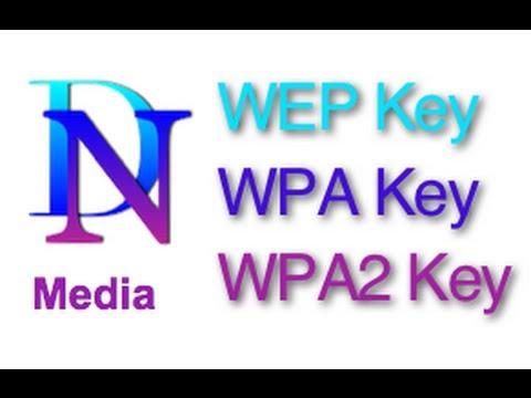 WEP Security WPA Security WPA2 Security WEP Key vs WPA Key vs WPA2