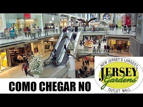 Como chegar ao Jersey Gardens Outlet Mall