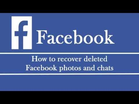 How To Recover Deleted Facebook Photo And Chat