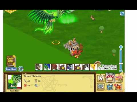 Social Empires Green Phoenix