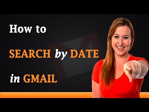 How to Search by Date in Gmail