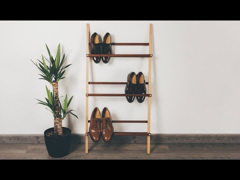 Let's Make a Genkan Shoe Rack