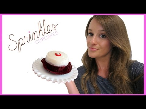 How To Make Sprinkles Red Velvet Cupcakes