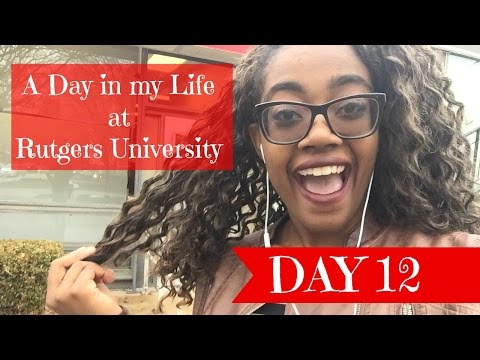 A Day in my Life at Rutgers University || Day 12