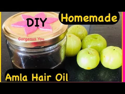 How To Make/Prepare  Amla Hair Oil At Home For Fast/ Extreme Hair Growth |Diy Amla hair oil|