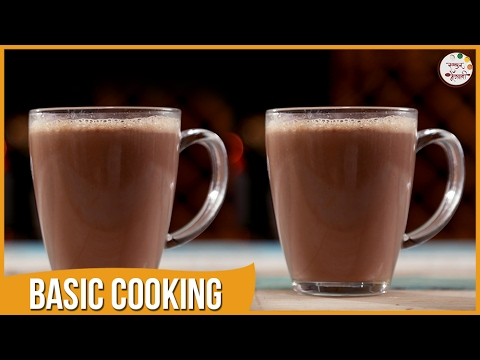 How To Make Hot Chocolate | Quick and Homemade Beverage | Recipe by Archana | Basic Cooking