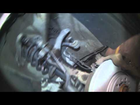 Audi B7: Front upper control arm(s) removal