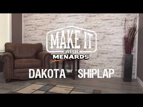Dakota Shiplap - Make It With Menards