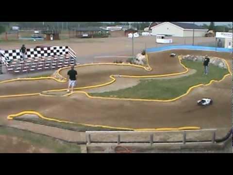 1/5  Scale A main Crandon Off-Road RC Track(mudfest)