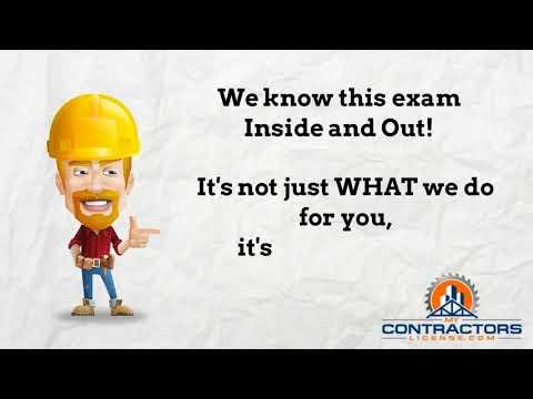 2018 Alabama NASCLA General Contractor Exam Prep Course 🔨 🔨