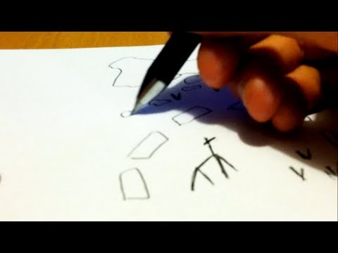 Drawing A Treasure Map - How To Draw Pirate Maps