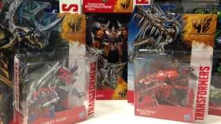 Transformers 4 Age Of Extinction Toy Haul/Unboxing