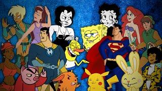 Drawn Together vs The Originals. Epic Rap Battles of Cartoons Season 3.