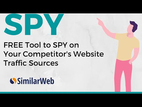 How to Spy on Competitor's Website Traffic Sources? (with a FREE Tool)
