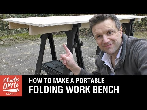 How to Make a Portable Folding Work Bench