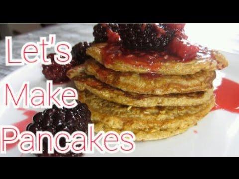 Easy Healthy Oat Pancakes
