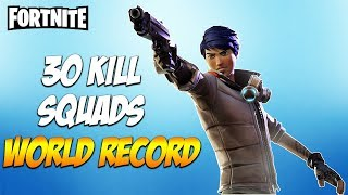 30 KILL SQUADS WIN - Fortnite Battle Royale - INSANE GAME! - Avxry