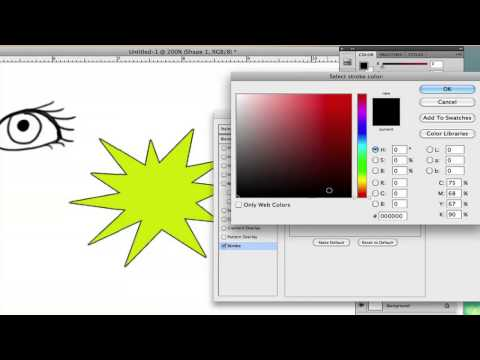 How to Change Outline Color in Photoshop : Using Adobe Photoshop