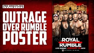 Fans Are Outraged Over The 2017 Royal Rumble Poster