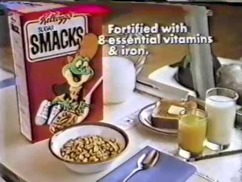 80's Ads: Kellogg's Sugar Smacks Cereal Dig'em Bowling 1981