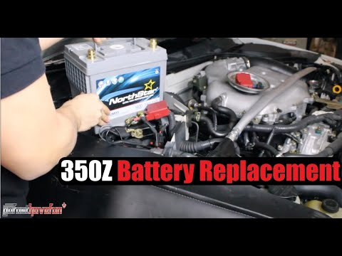 How to change the battery in a Nissan 350Z/ G35
