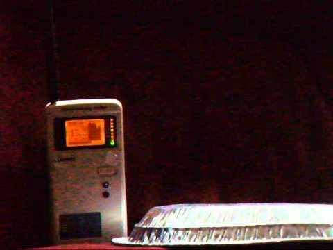 MYTH aluminum foil totally shields cell tower smart meter RF