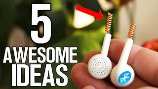 5 Awesome Ideas - Homemade inventions