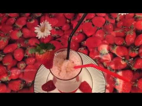 Banana Strawberry Milk shake