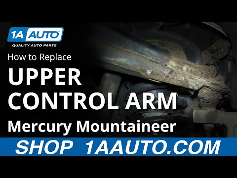 Rusted Out Upper Control Arm with a Stubborn Ball Joint Ford Explorer Mercury Mountaineer