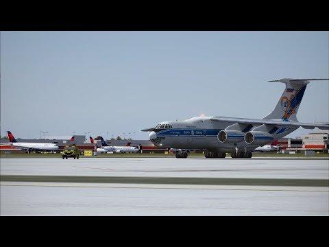San Juan (SJU) to Atlanta (ATL) in an IL-76TD-90VD