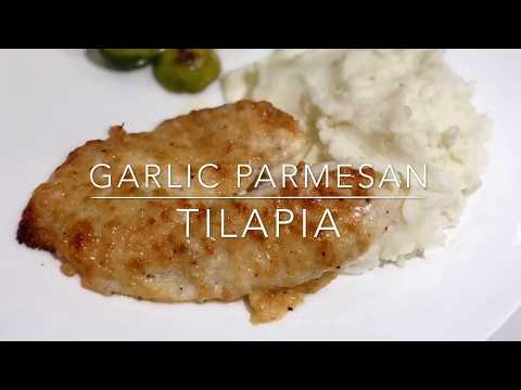 Garlic Parmesan Tilapia Quick and Easy  Recipe