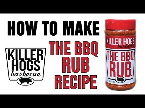 Killer Hogs BBQ Rub Recipe