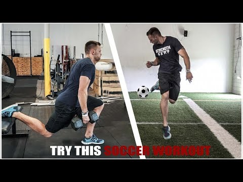 Try this Leg Workout for Soccer!
