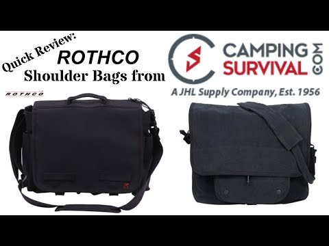 Rothco Shoulder Bags from CampingSurvival.com