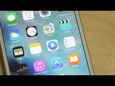 iPhone 6S Plus NEW Facebook Notify App - Review!