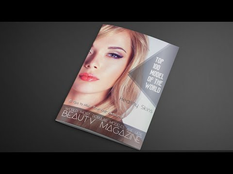 How to Design A Magazine Cover In Photoshop