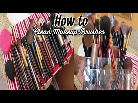 How To: Cleaning Makeup Brushes | Beauty Blender - Easiest & Cheapest Way !