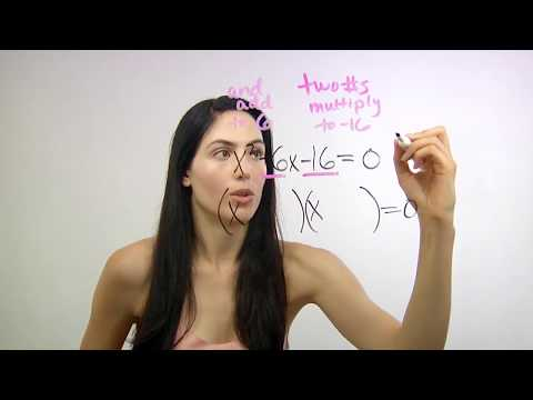 How to Solve Quadratic Equations by Factoring (NancyPi)