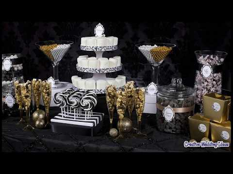 DIY Wedding Candy Buffet Ideas