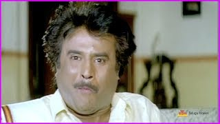 Rajinikanth Hilarious Comedy Scene @ Rowdy Zamindar Telugu Movie Comedy Scene