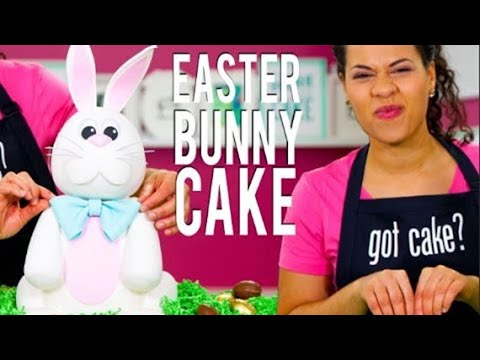 How To Make an EASTER BUNNY CAKE! Filled With 4 Delicious Flavours Of CADBURY CRÈME EGGS!