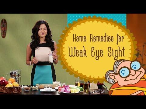 Weak Eye Sight - Ayurvedic Home Remedies To Improve Eyesight - Natural Remedy for Vision