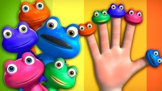 Frog Finger Family   Videogyan 3D Rhymes   Cartoon Animation For Children