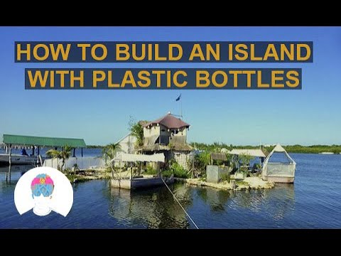 Man Lives on his Own Plastic Bottles Island - Richart Sowa | Architecture @ZIYAD