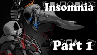 【Undertale Comic Dub】- Insomnia