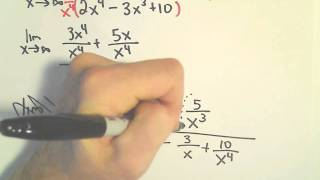 Horizontal Asymptotes Limits At Infinity Another Example 1